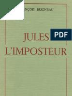 Jules l Imposteur Francois Brigneau