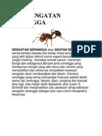 Bisa Sengatan Serangga