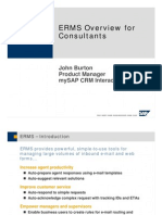 Erms Overview Consultant