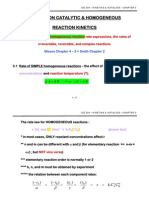 Ice 204 Chp3 Non Catalytic Reaction Kinetics