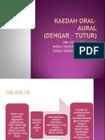Kaedah Oral Aural