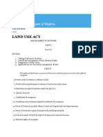 Land Use Act Nigeria