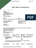 PO430037_Media Training Services