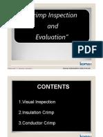 Crimp Inspection & Evaluation