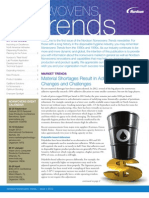 Nordson Nonwovens TRENDS Newsletter Issue 1 2012