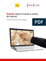 Estudio sobre el fraude a través de Internet , informe anual 2011