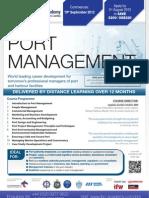 FLR2294 - Diploma in Port Management FLR2294HA101