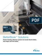 Nordson BetterBook Adhesive Application Systems for Digital Finishing or Small Binders