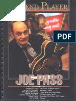 Joe Pass - Legend Player(Tab Songbook)