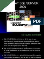 CÀI ĐẶT SQL SERVER  2000