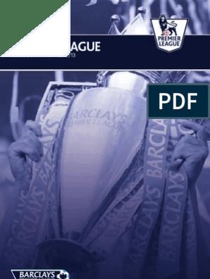 Premier League Handbook 2012 2013