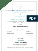 Final Sip Mba Project PDF