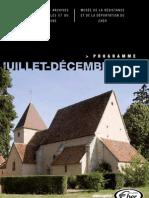 Musée de la Résistance - Bourges - Programme des animations juillet à décembre 2012