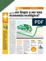 Cómo llegar a ser una economía ecológica