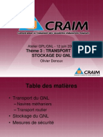 GPL GNL Theme 3 Transport Et Stockage