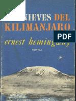 Hemingway Ernest - Las Nieves Del Kilimanjaro