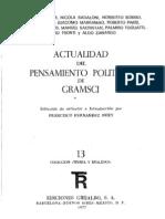 FERNANDEZ BUEY.F(ED.)-1977-Actualidad Del Pensamiento Politico de Gramsci