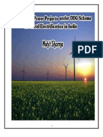 Renewable Energy Power Projects Under DDG Scheme for Rural Electrification in India