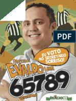 Panfleto Ceará Professor Evaldo Lima 65789