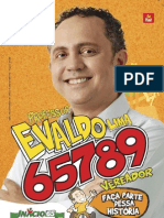 Santinho Professor Evaldo Lima 65789