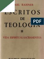 Rahner, Karl - Escritos de Teologia 03