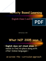 Ppt for Activity Based Learning of English