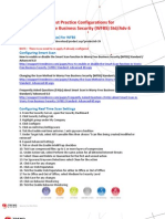 Best Practice Guide for WFBS 6