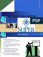 Launching a New Shampoo