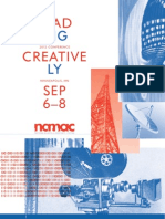 Leading Creatively - #NAMAC12 Conference Program