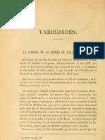 La judería de la ciudad de Palma en 1391