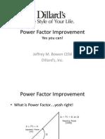 Power Factor Improvement Dillards
