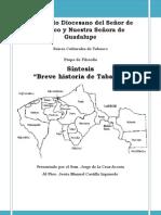 """Sintesis Del Libro """"Breve Historia de TAbasco"""""""