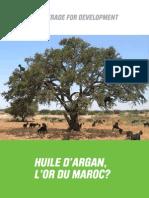 Huile Argan or Maroc
