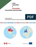 Joint Study on EU Canada Economic Partnership