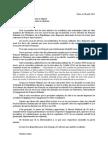 Lettre de Martine Aubry aux parlementaires sur le non-cumul