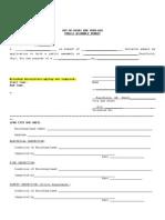 Fairfield, OH Event Permit