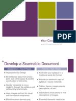 Syllabus Slides for UD Workshop 29 August 2012