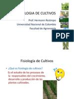 Fisiologia de Cultivos