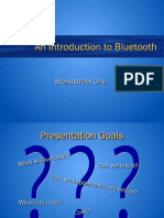 An Introduction to Bluetooth