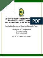 PRESENTACIÓN 2DO CONGRESO DEPORTE SEP 2012