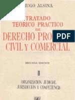 ALSINA, Hugo. Derecho Procesal Civil y Comercial - Tomo II