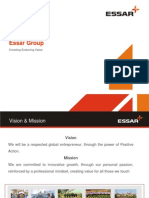 Essar Group Presentation
