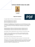 Acatistul Sf Vasile Indepartarea Farmecelor