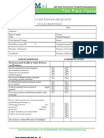 Child Care Indoor Air Quality Evaluation Form