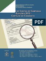 CARTILHA PRESTAÇÃO DE CONTAS