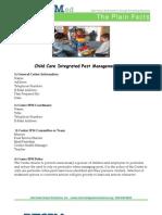 Sample Child Care IPM Plan