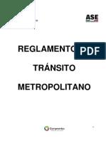 Reglamento Transito Metropolitano