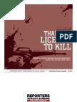 Thailand Licence to Kill