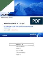 75265149 EA Session 04 Overview of TOGAF