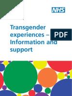 Doh Transgender Experiences